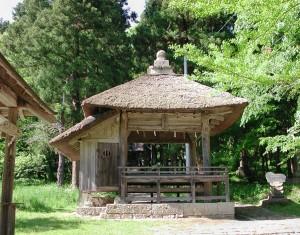 八幡神社舞楽殿