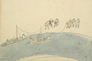 p15 曳船図(県博)