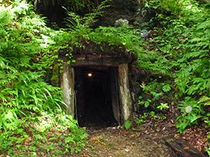 谷口銀山写真-坑道入口